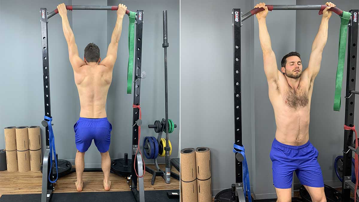 Yoga for Back Decompression - Pull-Up Bar Hang