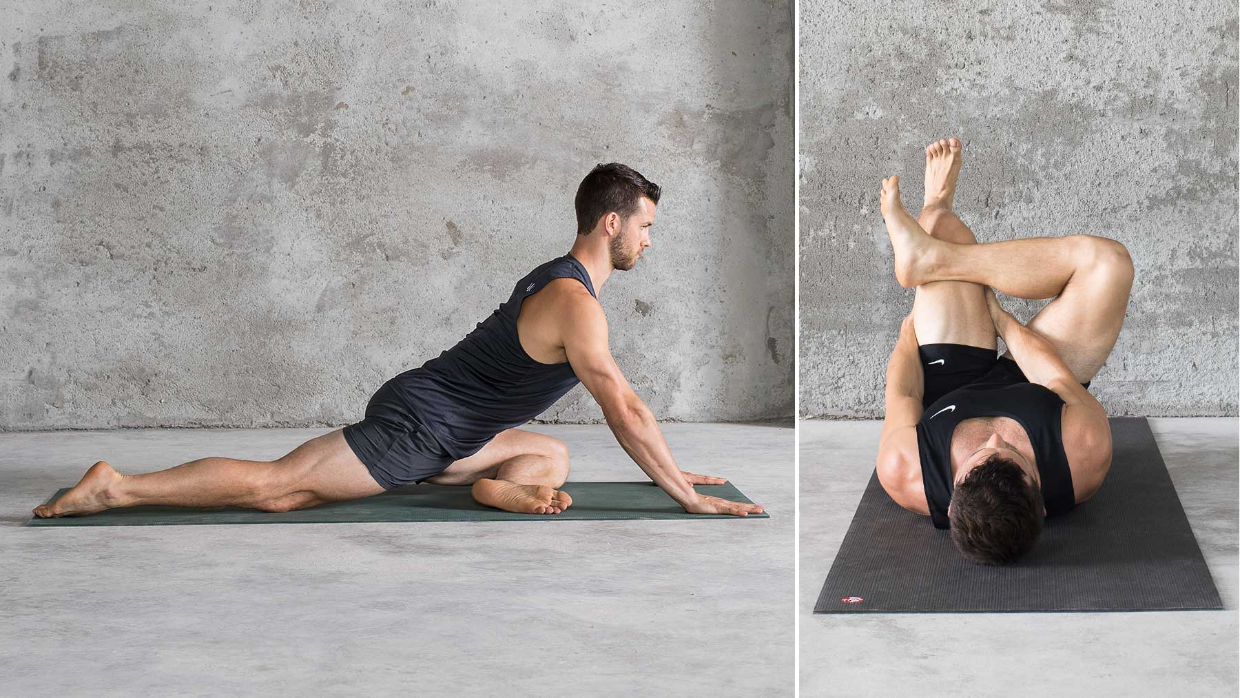 The 33 Best Yoga Poses for Men by Man Flow Yoga  Rhone