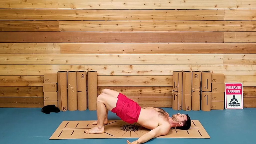 Bridge - How to get stronger erections with these 5 yoga poses