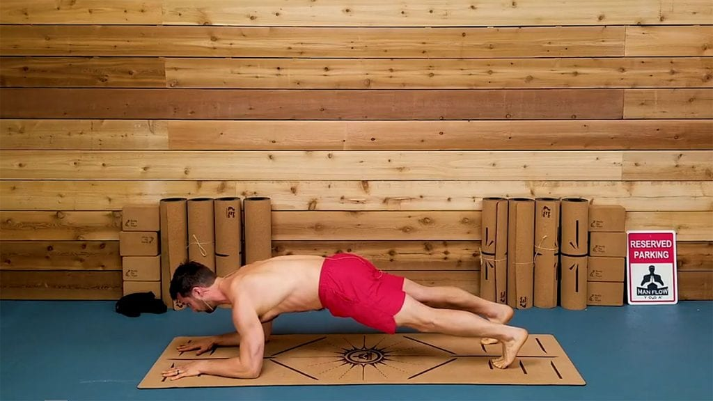 Plank - How to get stronger erections with these 5 yoga poses