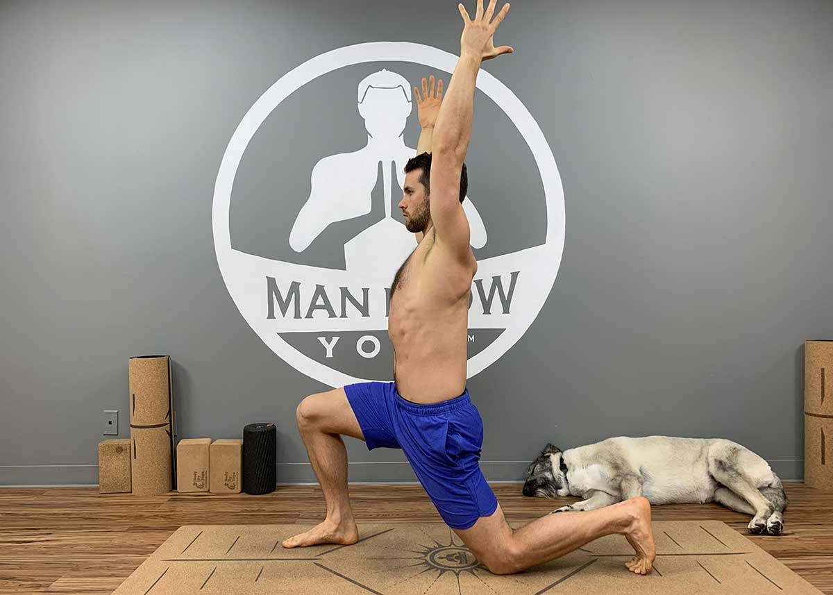Yoga for Spinal Decompression - Low Lunge
