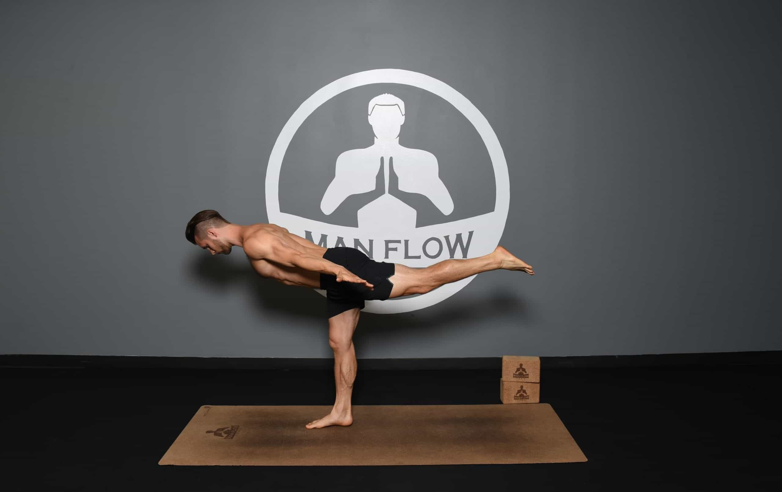 Yoga is great for developing balance - Warrior 3 Pose as an example