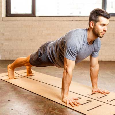 Dean in Plank Pose